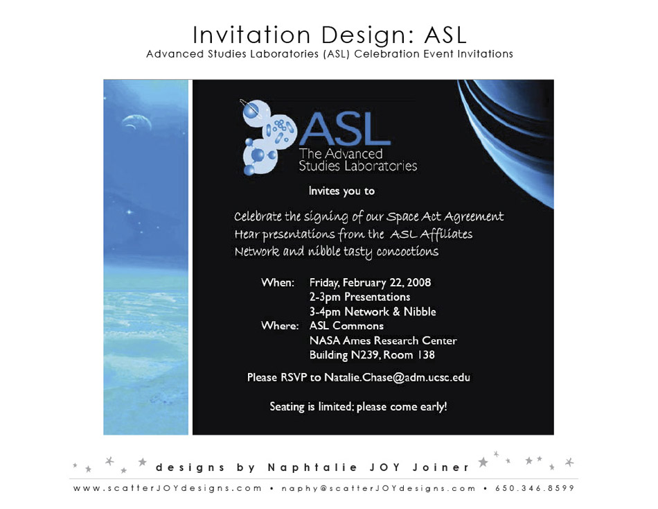 ASL Invitation