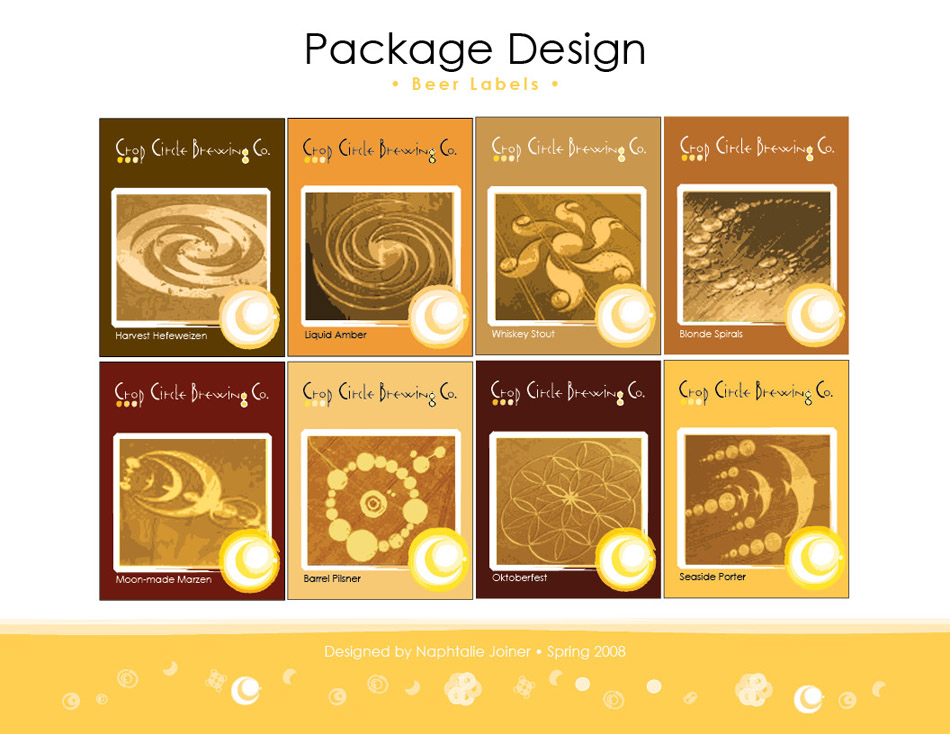 CropCircleBrewingCo_Identity Package Design