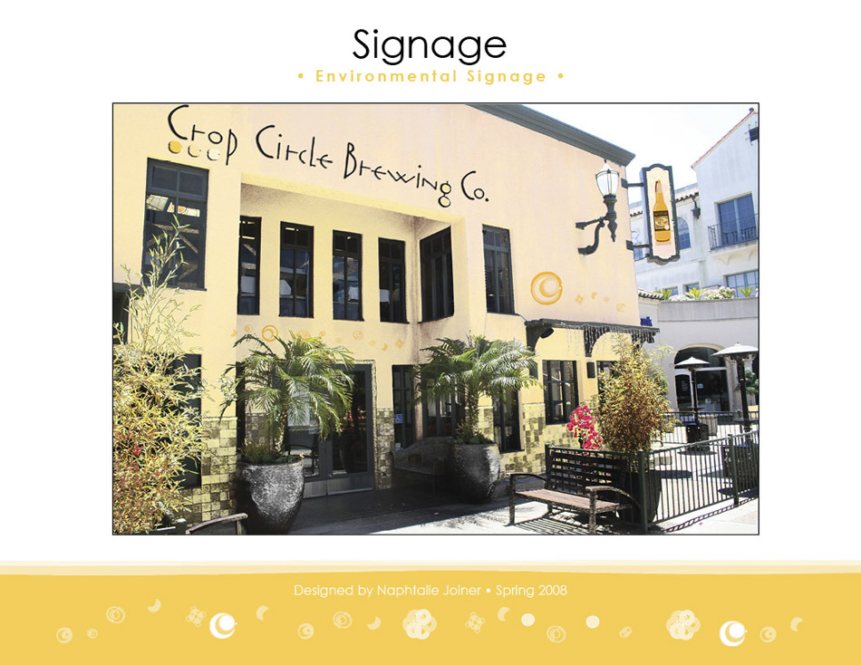 CropCircleBrewingCo_Identity Signage