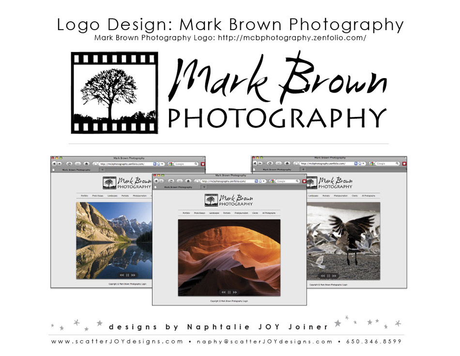 Mark Brown Photo Logo