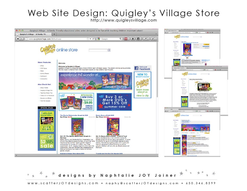 Quigleys Village Webstore