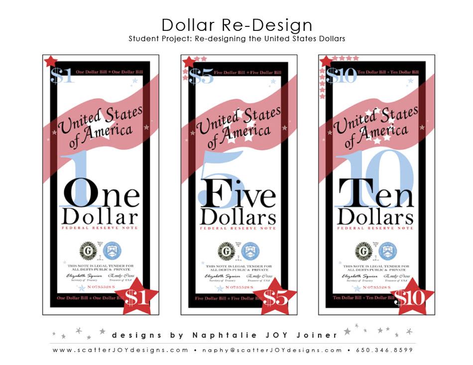 Dollar Design Elements Dollar re Design