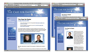 Case for Easter Mini-Website
