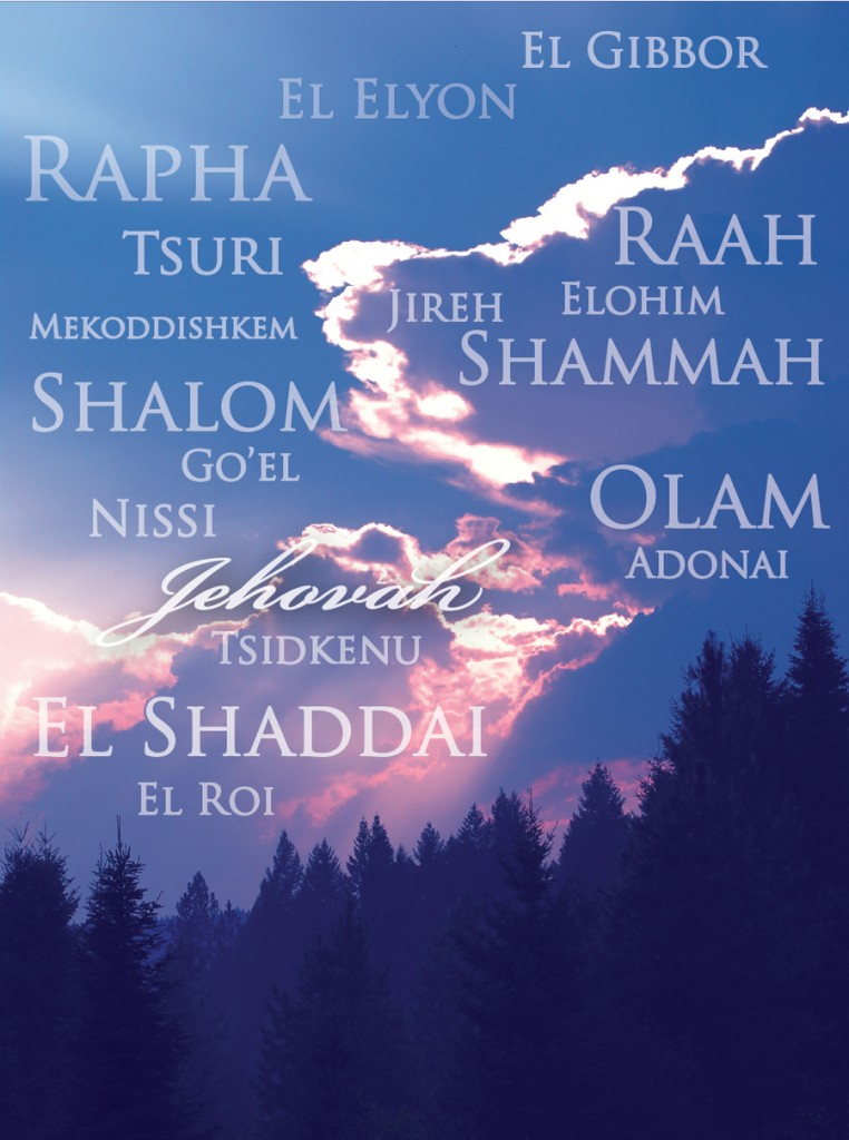 Living in the Names of God