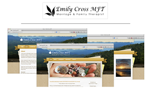 Emily Cross MFT Logo & Website
