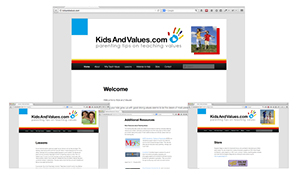 Kids And Values Website