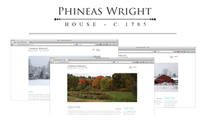Phineas Wright House Logo & Blog