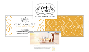 Wendy Harrop Events Identity
