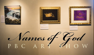 PBC Names of God Art Show