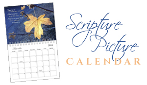 Happy 2016 – A Scripture Picture Calendar
